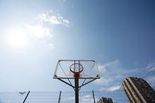 Plexiglass Street Basketball Board With Hoop Without Net