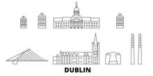 Irland, Dublin Flat Travel Sky...