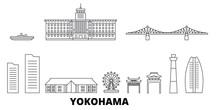 Japan, Yokohama Flat Travel Sk...