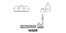 Niger Flat Travel Skyline Set....