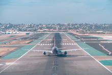 San Diego, USA, 2018. Airplane...
