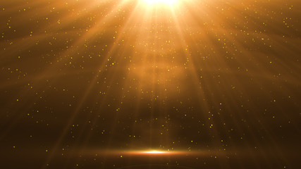 abstract glowing light sun burst with digital lens flare background. effect decoration with ray sparkles .Star burst with sparkles. Gold glitter,