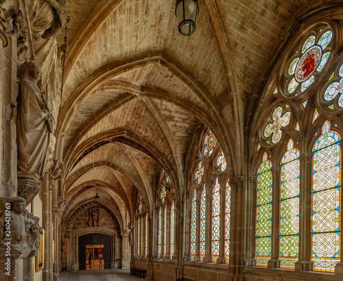 Catedral de Burgos Espanha Canvas Print