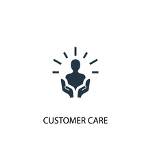 Customer Care Icon. Simple Ele...