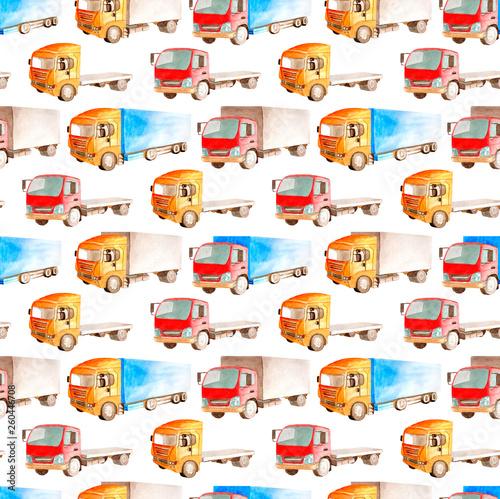Foto op Canvas Cartoon cars Mobile