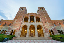 Exterior View Of The Royce Hall