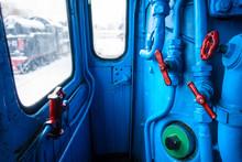 Control Panel Of Steam Engine ...