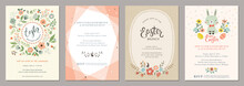 Happy Easter Templates With Eg...