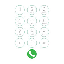 Mobile Phone Touch Screen Dial...