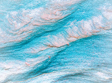 Abstract Blue, Gray, Orange An...