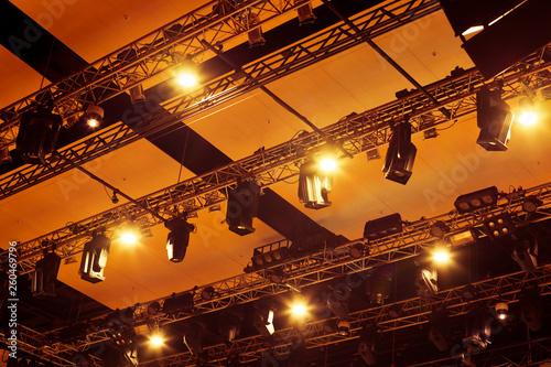Stage lighting equipment closeup - 260469796