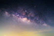 close up to full size milky way