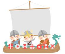 Kids Boys Sweden Viking Float Midsummer Festival