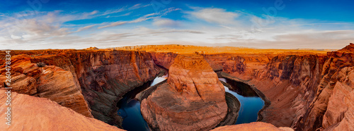 Spoed Foto op Canvas Rood traf. Horseshoe Bend , Arizona