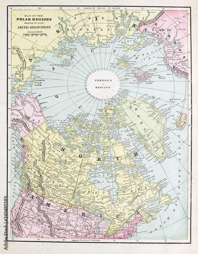 stara-mapa-grawerowanie-obrazu