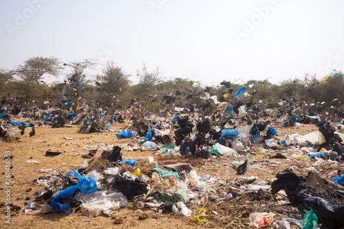 Fotografía plastic pollution in Senegal
