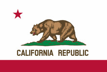 Flag Of California State Of Th...