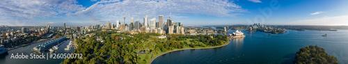 Unique panoramic view of the beautiful city of Sydney, Australia © Michael Evans