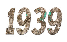 Year 1939  With Old Concrete W...