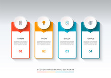 Infographic Banner With 4 Opti...