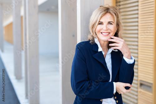 Fotografie, Obraz  Erfolgreiche Geschäftsfrau