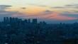 東京 タイムラプス 2019 日没から夜景 長時間撮影