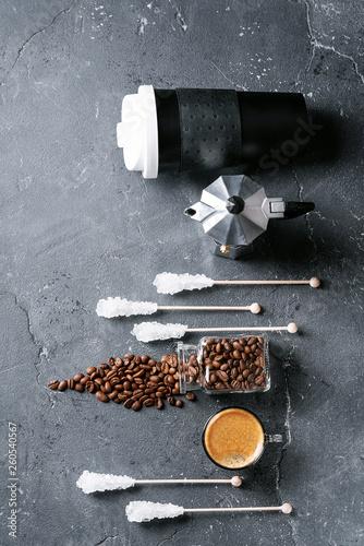 Photo Cup of espresso