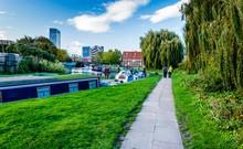 Bow Creek Canal London, England, UK