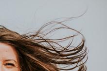 Mèches De Cheveux Dans Le Ve