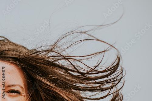 Fotografia, Obraz  Mèches de cheveux dans le vent