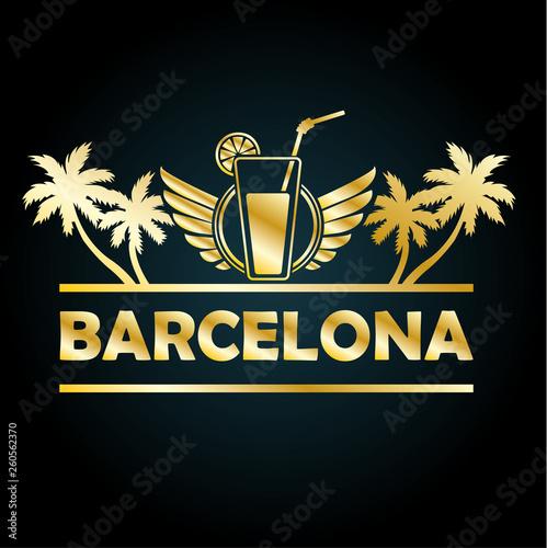 Photo Barcelona Gold