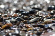Steinansammlung am Meer
