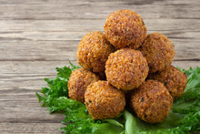 Vegetarian Dish - Falafel Ball...