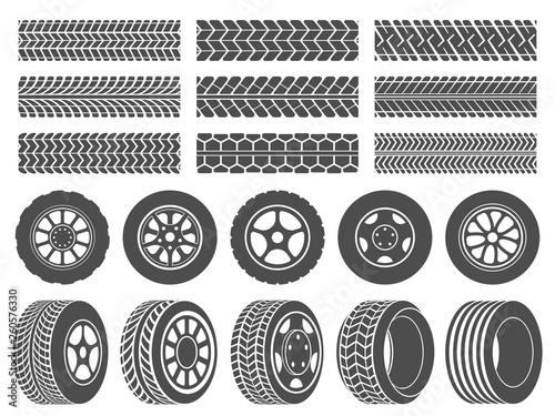 Stampa su Tela Wheel tires