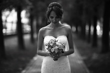 Wedding Black And White Photo ...