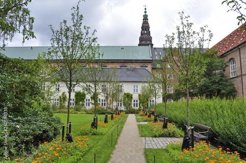 Photo  Building in a park in Copenhagen, Denmark