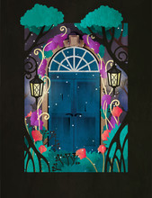 Magic Wooden Door In Fairy For...