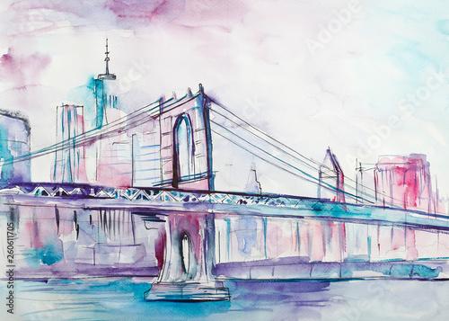 Fototapeta Pejzaż z Nowego Yorku obraz