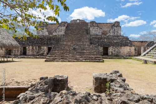 Fotografia  Ancient Maya city of Ek Balam