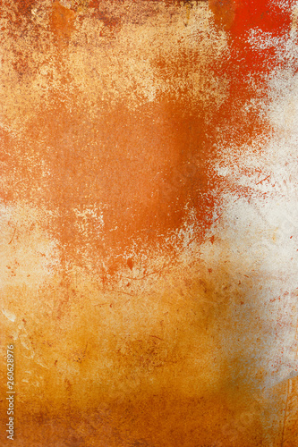 Rusty textured metal background  Rust compound is an iron oxide