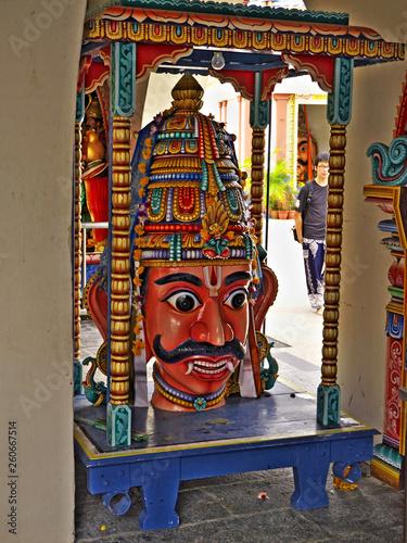 Photo  Hindu temple, Singapore, Little India
