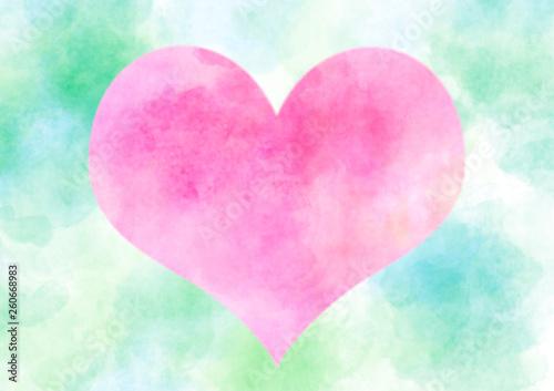 Fotografia  pink heart