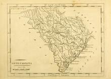 Old Map. Engraving Image. US