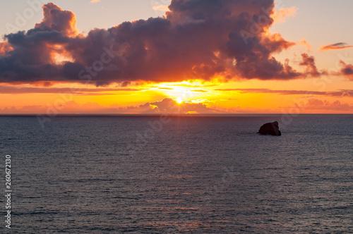 Photo sur Toile Nautique motorise Küste vor Cornwall in England