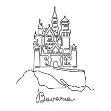 Bavaria, Neuschwanstein Castle...