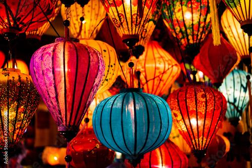 Foto  Traditionnal lantern in Hoi An vietnam