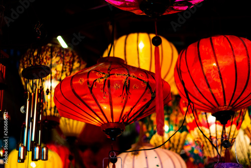 Fotografie, Obraz  Traditionnal lantern in Hoi An vietnam