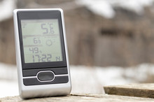 Home Weather Station On The St...