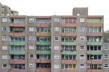 Facade Of A Residential Buildi...