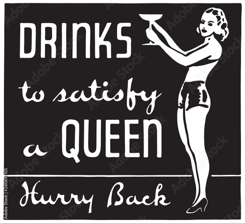 Photo Drinks To Satisfy A Queen